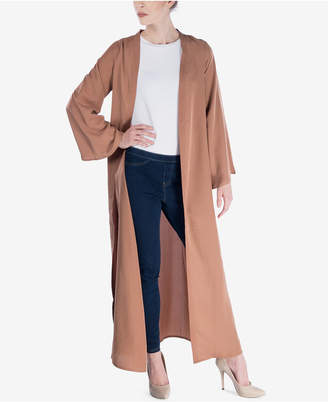 Verona Collection Bell-Sleeve Maxi Cardigan