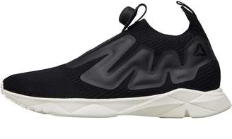 d5927ee7fae Reebok Pump Supreme Style Trainers Premium Black Classic White