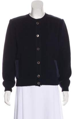 Salvatore Ferragamo Wool Long Sleeve Jacket