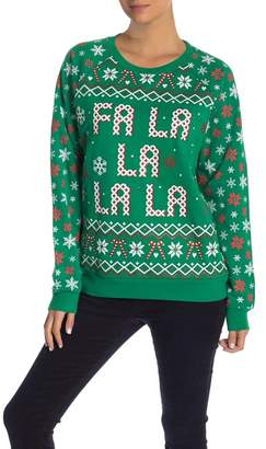 Freeze Fa La La Light Up Sweater