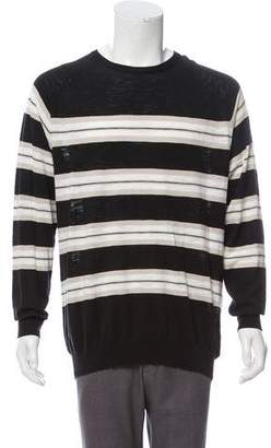 Armani Collezioni Striped Lightweight Sweater w/ Tags