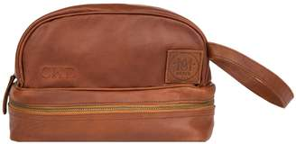Raleigh MAHI Leather - Leather Toiletry Bag In Vintage Brown