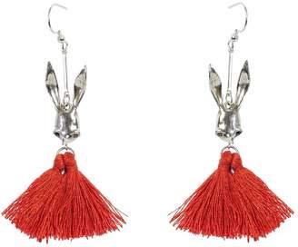 Tripp Candice Sally Rabbit Tassel Earrings