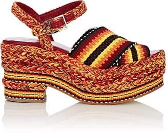 ANTOLINA Women's Ramona Cotton Platform Sandals