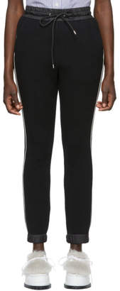 Sacai Black Sponge Lounge Pants