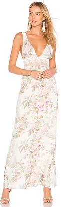 MAJORELLE Magnolia Maxi Dress in White $238 thestylecure.com