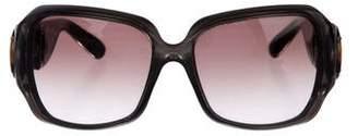 Gucci Bamboo Horsebit Sunglasses