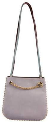 Renaud Pellegrino Suede Chain-Link Embellished Tote