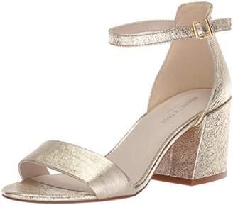 Kenneth Cole New York Women's Hannon Block Ankle Strap Heeled Sandal
