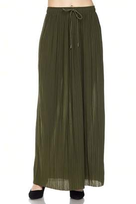 ambiance apparel Effortless Pleat Maxi