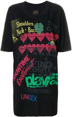 Vivienne Westwood Super oversized printed T-shirt