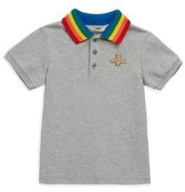 Little Boy's & Boy's Rainbow Polo