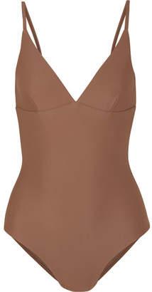 Matteau - The Plunge Swimsuit - Tan