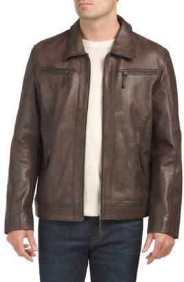 Lambskin Leather Adel Moto Jacket