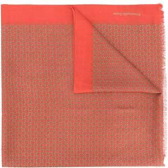 Ermenegildo Zegna monotonous styled scarf