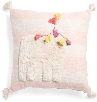 Made In India 26x26 Drama Llama Pillow