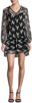 Rachel Zoe Carolina Graphic Print Shift Dress