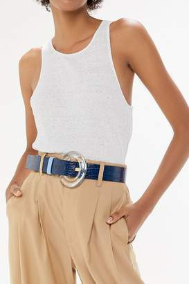 Urban Outfitters Lucite Buckle Belt