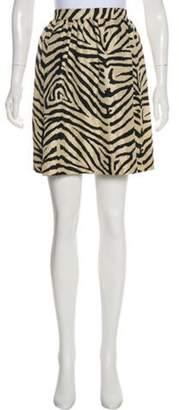 MICHAEL Michael Kors Mini Silk Skirt w/ Tags black Mini Silk Skirt w/ Tags