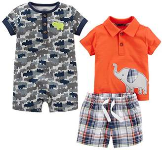Carter's Simple Joys by Baby Boys' Infant 3-Piece Playwear Set