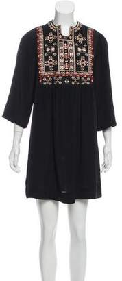 Isabel Marant Ren Embroidered Dress