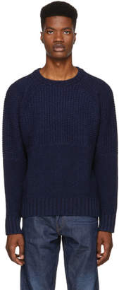 Levi's Levis Made And Crafted Levis Made and Crafted Navy Fisherman Sweater