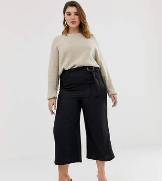 Unique21 Hero Unique21 flared culotte with belt buckle