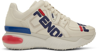 Fendi White Mania Chunky Sneakers