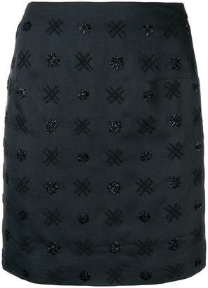 Noon By Noor Scout embellished mini skirt