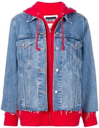 Levi's Hybrid Trucker denim jacket
