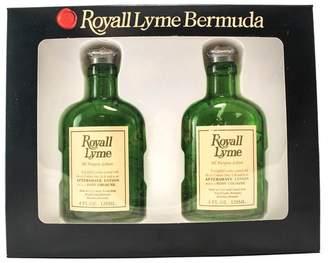 Royall Fragrances Lyme Of Bermuda 2 Piece Gift Set(all Purpose Lotion Spray / Splash 4.0 Oz X 2 Total 8.0 Oz) for Men, 4.0 fl. Oz.