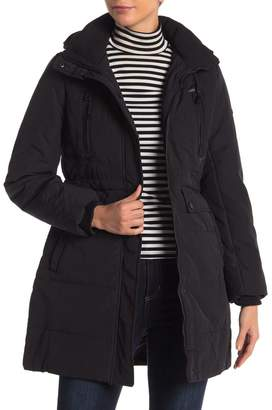 Lucky Brand Missy Faux Shearling Lined Hooded Parka