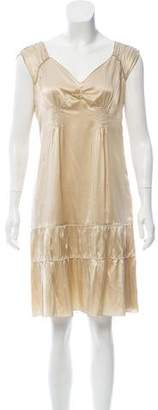 Miu Miu Knee-Length Silk Dress