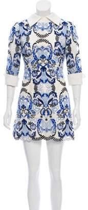 Couture Rex Haute Embroidered Mini Dress