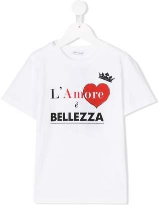 Dolce & Gabbana L'amore è bellezza T-shirt