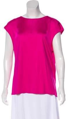 Balenciaga Short Sleeve Knit Top