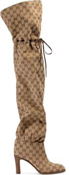 Gucci Original GG canvas over-the-knee boot
