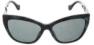 Balenciaga Printed Cat-Eye Sunglasses
