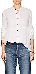 Pas De Calais Women's Cotton Tunic Shirt - Ivorybone