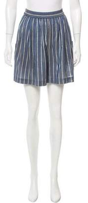 Tome Printed Mini Shorts