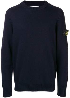 Stone Island crew neck sweater
