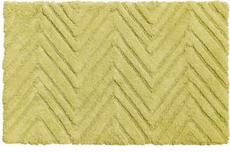 Carnation Home Fashions Eldridge Chevron Weave 100% Cotton Bath Mat