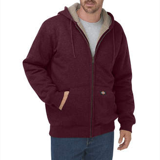Dickies Mens Sherpa-Lined Fleece Hoodie