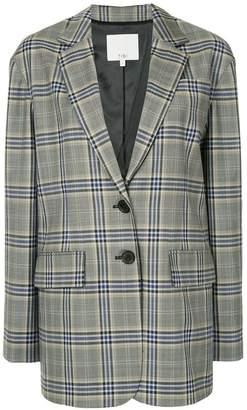 Tibi Lucas checked blazer
