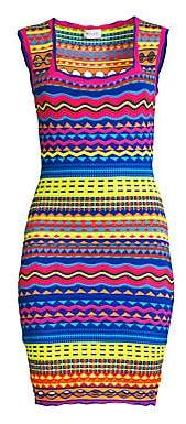 Milly Women's Technicolor Mini Dress