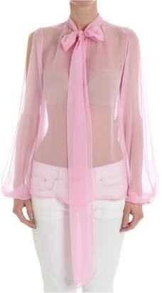 N°21 N.21 Sheer Silk Shirt