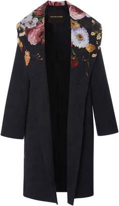 Naeem Khan Floral Coat