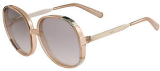 Chloé 61MM Round Sunglasses