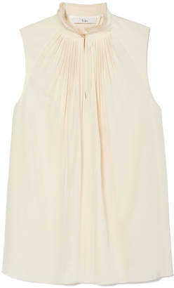 Tibi Arielle Silk Sleeveless Top