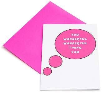 Los Angeles Trading Company You Wonderful Wonderful Thing You Card